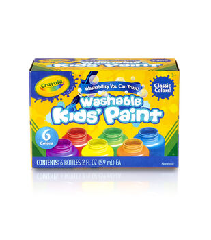 Crayola Kids Paint 6/Pkg