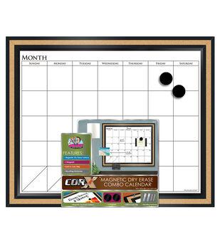 Decorative Blk Frame Mag Calendar
