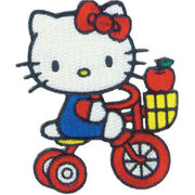 C, Visionary Hello Kitty Patches Tricycle Apple, , hi-res