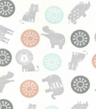 Magic Moon™-Baby's Zoo Toss Flannel