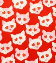 Alexander Henry Cotton Fabric-Lovestruck Red, , hi-res
