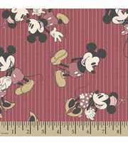 Disney® Mickey and Minnie Mouse Print Fabric-Stripes, , hi-res