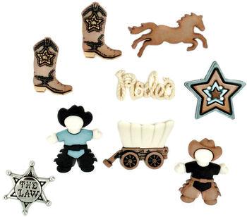 Dress It Up Embellishments-Howdy Partner