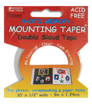 """Pioneer 1/2"""" Double-Sided Mounting Tape-30'"""