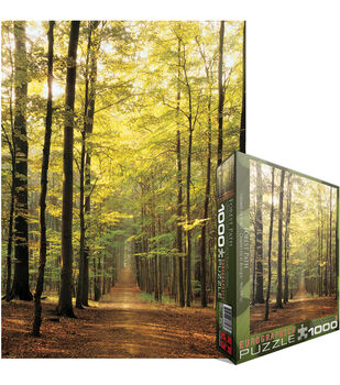 Euro Graphics Jigsaw Puzzle Forest Path