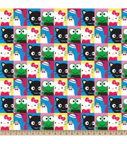 Sanrio Hello Kitty N Friends Fleece Fabric, , hi-res