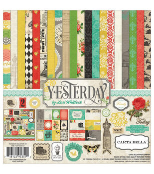 Carta Bella Yesterday Collection Kit 12''x12''