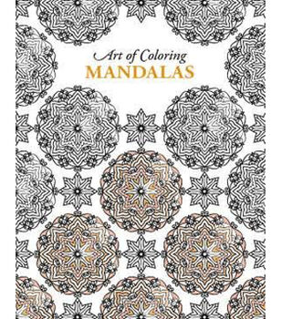 Adult Coloring Book-Inspired Coloring Patterns