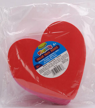 Darice Foamies Value Pack-36PK/Hearts