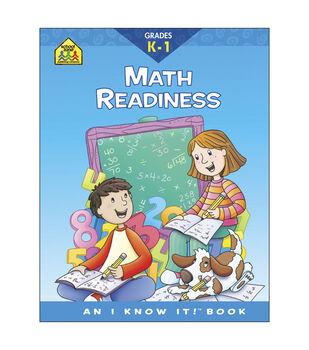 Curriculum Workbooks 32 Pages-Math Readiness Grades K-1