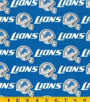 Detroit Lions NFL Cotton Fabric by Fabric Traditions, , hi-res