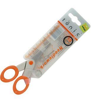 "Tonic Kushgrip Needlework Scissors 5"""