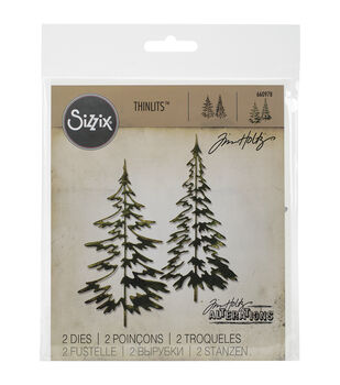 Sizzix® Thinlits Dies-Woodlands
