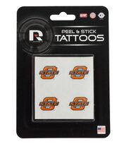 Oklahoma State NCAA Peel & Stick Tattoos, , hi-res