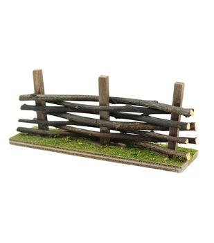 Fairy Garden Mossy Wood Fence