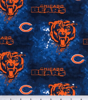 Chicago Bears NFL Cotton Fabric by Fabric Traditions