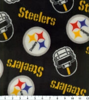 Pittsburgh Steelers NFL Fleece Fabric by Fabric Traditions, , hi-res