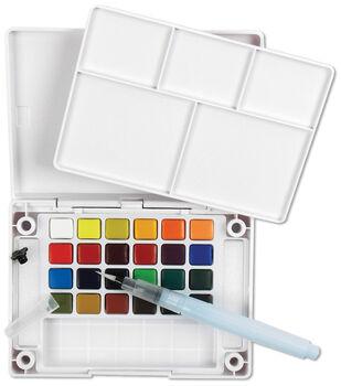 Sakura Koi Water Colors Pocket Field Sketch Box W/Brush-24 Colors