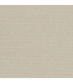 Nate Berkus Home Decor Fabric-Asher Latex Winter White