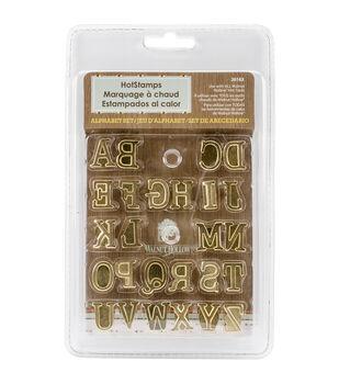 Hot Stamps Alphabet Set 26/Pkg-