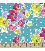 Springmaid® Cotton Fabric-Amelia Floral, , hi-res