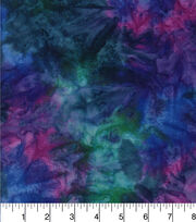 Batik Cotton Fabric - Tonal Purple, , hi-res