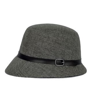 Laliberi Plaid Cloche Hat