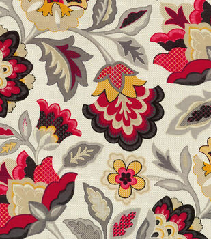 Waverly Upholstery Fabric-Katia Licorice