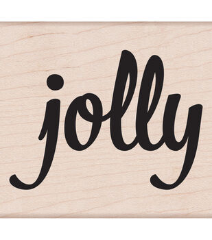 Hero Arts® Mounted Rubber Stamp-Bold Jolly