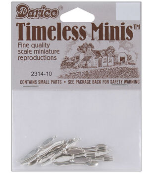 Darice Timeless Miniatures-Silverware-12