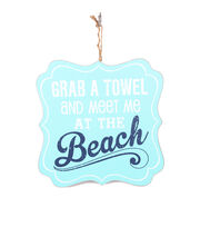 Escape To Paradise Wall Plaque-Meet Me At The Beach, , hi-res