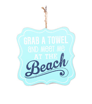 Escape To Paradise Wall Plaque-Meet Me At The Beach