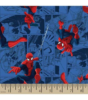Marvel's Spider-Man Print Fabric