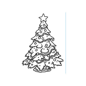 Darice Embossing Folder - Christmas Tree,  4-1/2 x 5-3/4 inches
