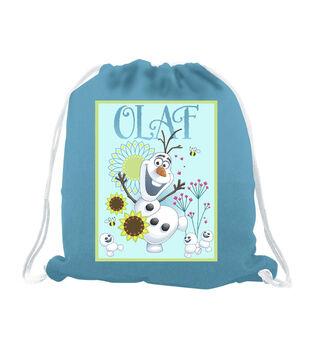 Giftable No Sew Throw-Disney® Frozen Olaf Sunflower