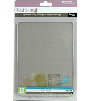 "Cuttlebug Replacement Cutting Mats 6""X7"" Set Of 2"