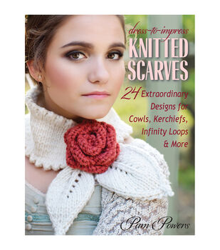 Pam Powers Knitted Scarves Book