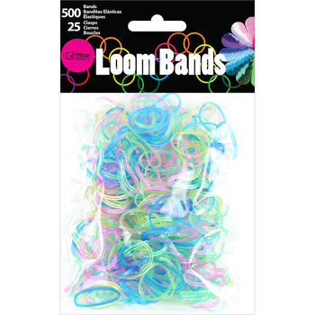 Loom Bands Glitter Assortment 525pc