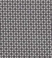 Keepsake Calico™ Cotton Fabric-Silver Tile On Black, , hi-res
