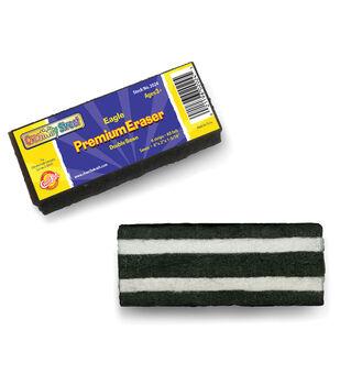 """Eagle Premium Eraser 6""""X2""""X1.25""""-Black"""