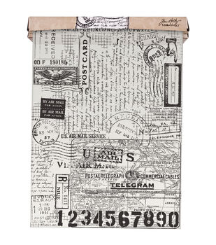 Tim Holtz - Advantus Idea-Ology Postale Tissue Wrap
