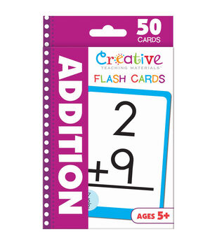 Creative Teaching Materials 50ct Flash Cards-Addition