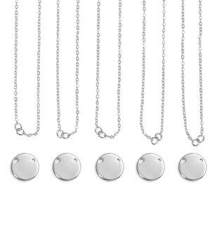 ImpressArt Personal Impressions Large Silver Circle