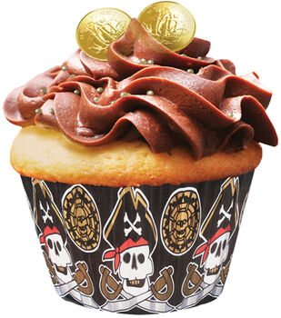 Cupcake Creations-Standard Baking Cups 32/Pk-Pirates