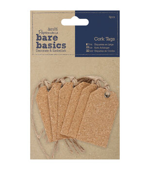 Papermania Bare Basics Gift Cork Tags