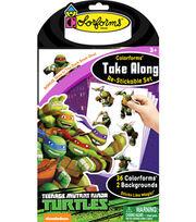 Teenage Mutant Ninja Turtles Colorforms® Take Along Re-stickable Playset, , hi-res
