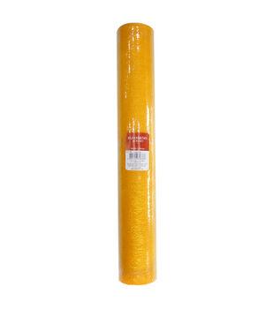 Blooming Autumn Mesh Ribbon 21''x30'-Yellow