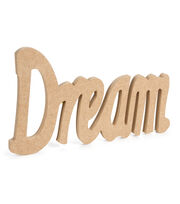 Fab Lab™ MDF Chunky Standing Word-Dream, , hi-res