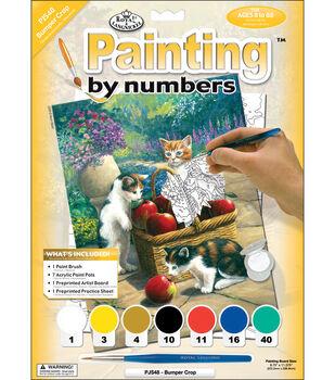Royal Langnickel Junior Paint By Number Kit Bumper Crop