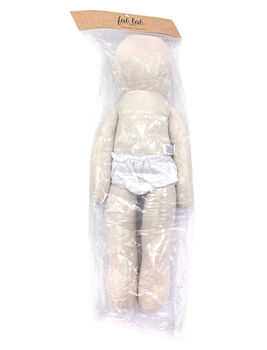 Bendable Muslin Doll-